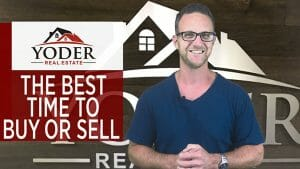 the best time to buyer or sell a home screen grab