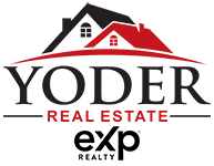 Yoder Real Estate logo with exp realty