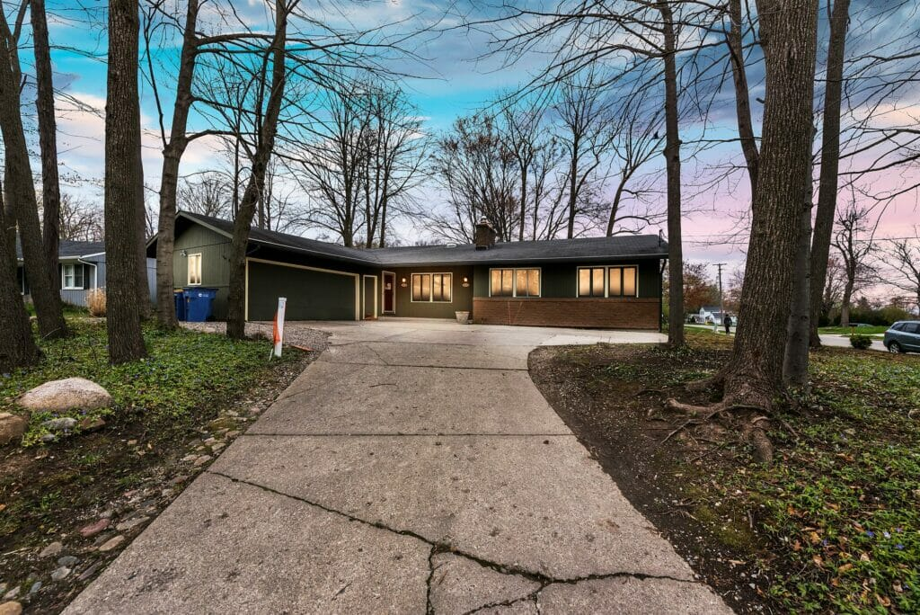 single-story investment property on okemos drive
