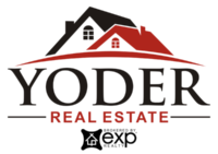 Yoder Real Estate logo brokered by eXp